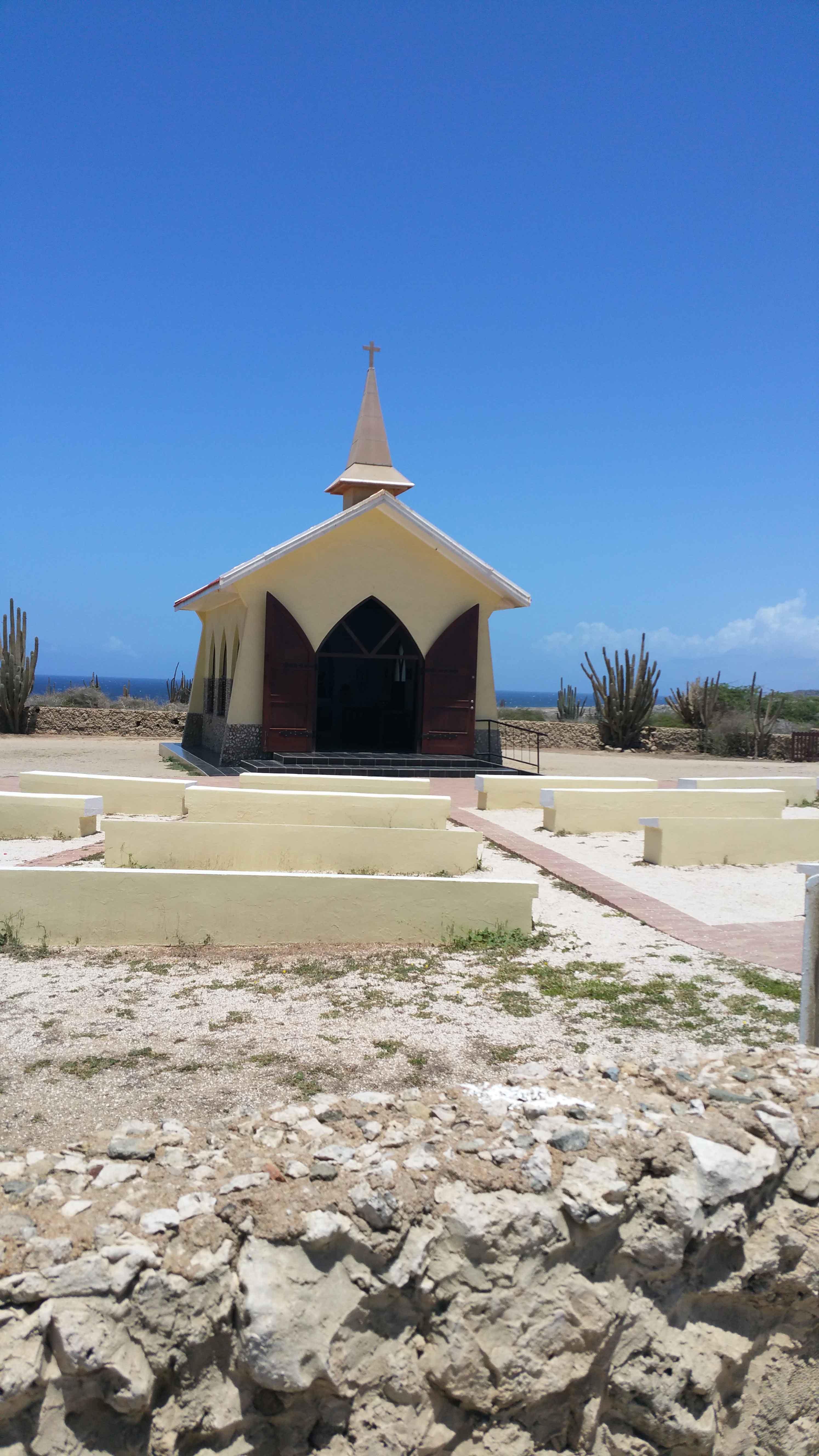 Vakantiewoning Aruba AltoVista kapel - OMGEVING