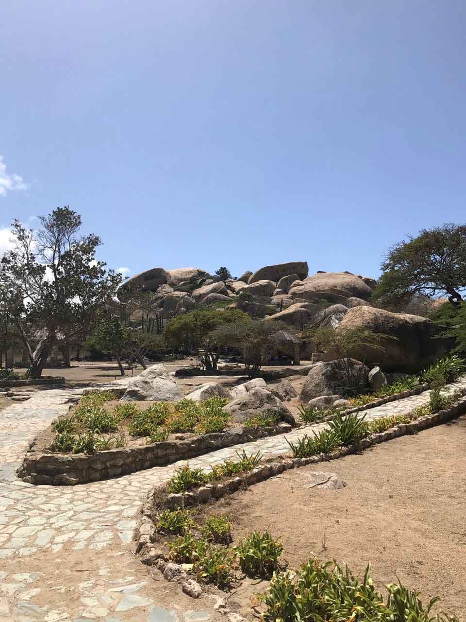 Vakantiewoning Aruba Ayo Rockformatie - OMGEVING