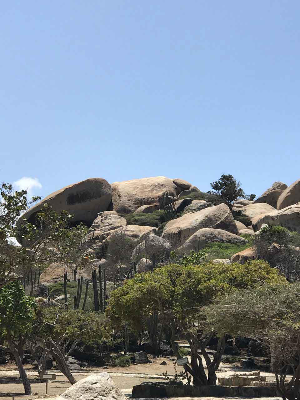 Vakantiewoning Aruba Ayo Rockformatie2 - OMGEVING