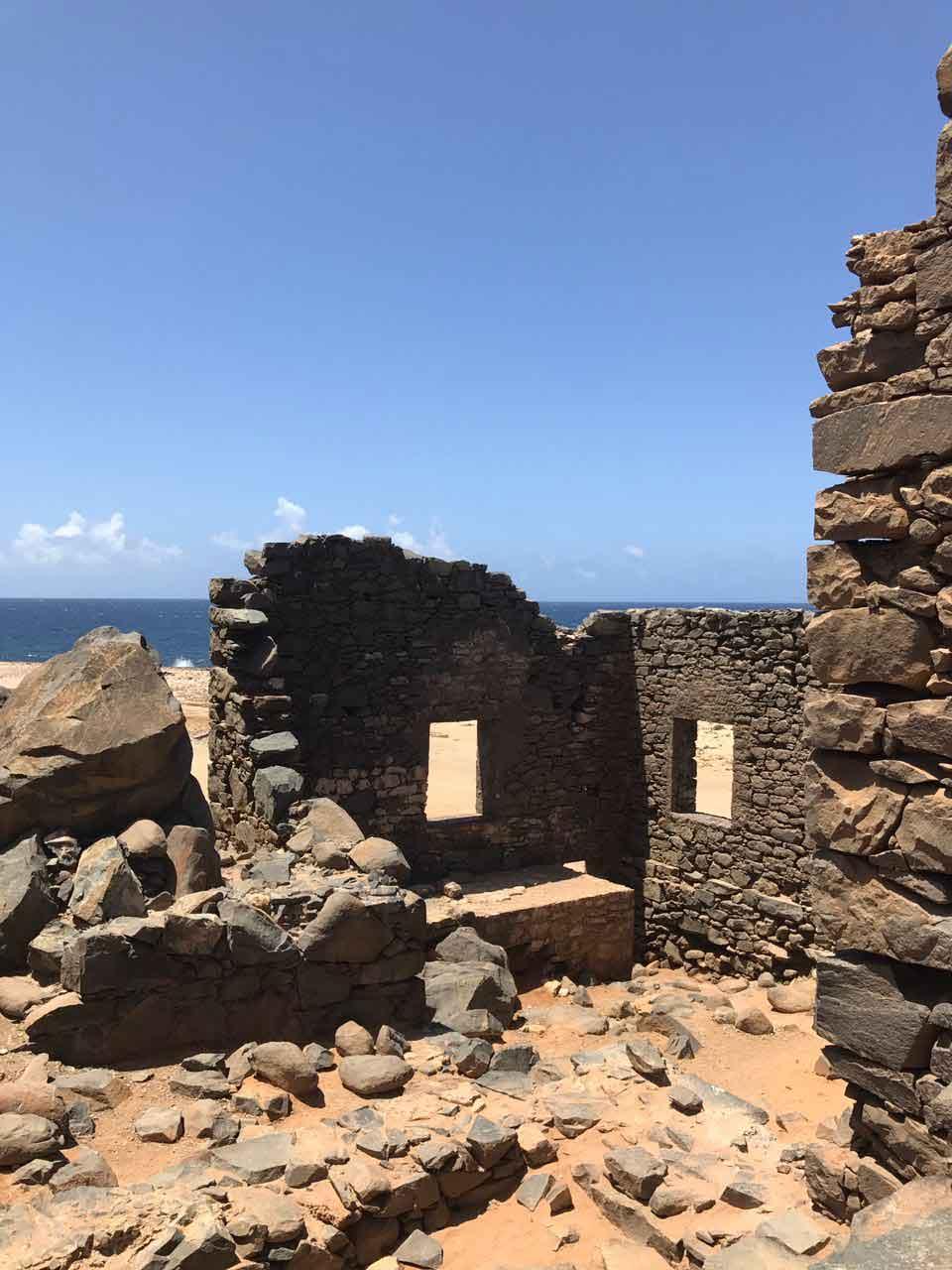 Vakantiewoning Aruba Bushiribana Goudmijn Ruines - OMGEVING